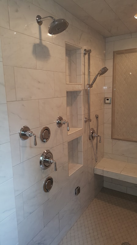 Shower Remodel – From basic to extreme with steam shower
