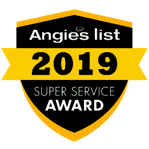 Angies List Plumbing Services Super Service Award 2019 Image